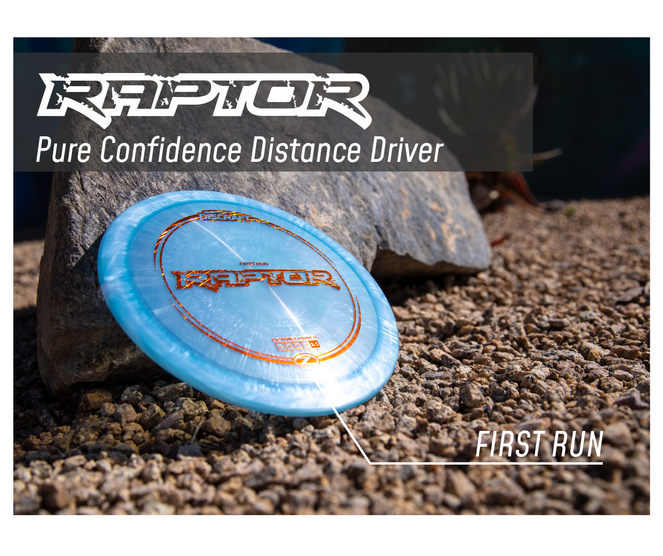 Discraft Discs Distance Driver Raptor blue in Z plastic - Paul Ulibarri