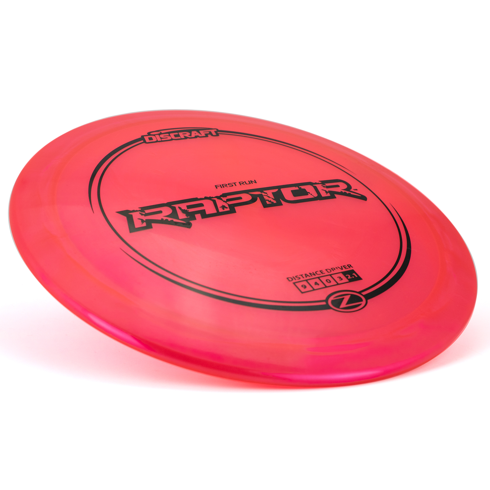 Discraft Discs Distance Driver Raptor red in Z plastic - Paul Ulibarri